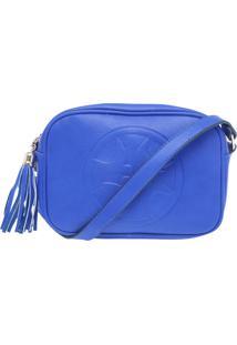 Bolsa Isabella Piu Relevo Azul