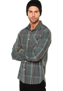 Camisa Volcom X Factor Plaid Xadrez