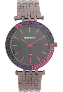 Relógio Mondaine 99095Lpmvfs3 Roxo