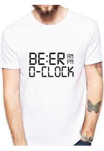 Camiseta Coolest Beer O'Clock Masculina - Masculino