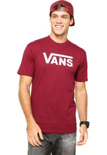 Camiseta Vans Classic Vermelha