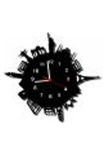 Relógio De Parede Decorativo - Modelo Mundo World 2