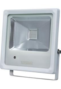 Refletor Led Rgb 10W Taschibra Branco