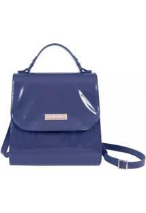 Bolsa Compredeboa Petite Jolie Neo Folder Navy - Feminino-Azul