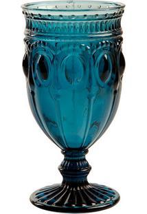 Taça De Vinho Jewelry Blue