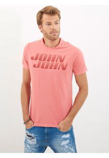 Camiseta John John Rg Basic Speed Malha Laranja Masculina Tshirt Rg Basic Speed-Laranja Medio-Gg