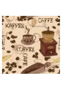 Papel De Parede Autocolante Rolo 0,58 X 3M - Café Cozinha 262030105