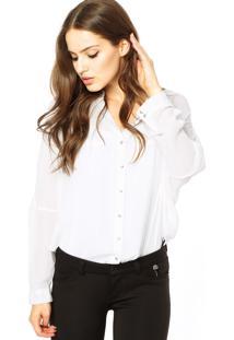 Camisa Mng Barcelona Branca