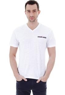 Camiseta Masculina Ocean Bay - Branco