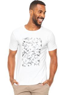 Camiseta Vr Estampada Branca
