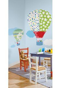 Adesivos De Parade Roommates Colorido Hot Air Baloons Megapack