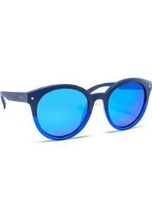 Óculos De Sol Polaroid Pld 6043/S Feminino - Feminino-Azul