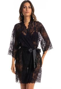 Robe Curto Em Renda Mariah