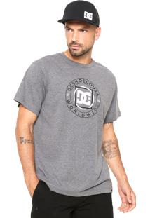 Camiseta Dc Shoes Endless Frontier Cinza