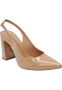 Sapato Chanel - Marrom Claro - Salto: 9,5Cmcecconello