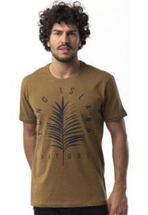 Camiseta Long Island Filipinas - Masculino-Caramelo