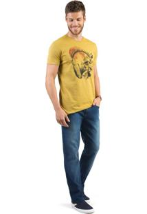Calça Jeans Comfort Vintage Flex Super Stone