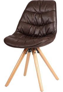 Cadeira Eames Foam Pu Cafe Base Madeira - 38080 - Sun House