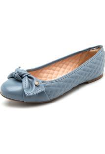 Sapatilha Dumond Matelassê Azul