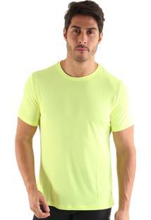 Camiseta Liquido Square - Amarelo Neon Gg
