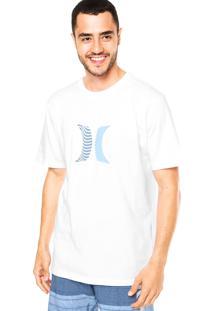 Camiseta Hurley Icon Boardshorts Branco