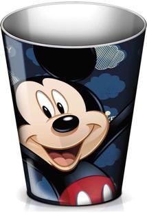 Balde Multi-Uso Gedex Pequeno Vermelho/Preto Mickey