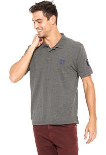 Camisa Polo Mr. Kitsch Mora Cinza