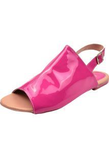 Sandália Donna Santa Flatform Avarca Pink - Kanui