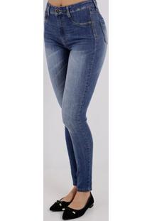 6f230b3a8 ... Calça Jeans Feminina Sawary Azul