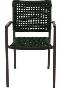 Cadeira Com Braço West Corda Nautica