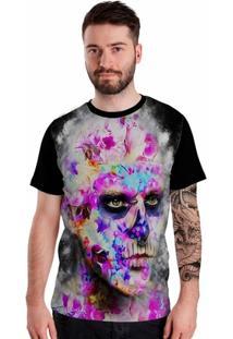 Camiseta Stompy Tattooed Face - Masculino