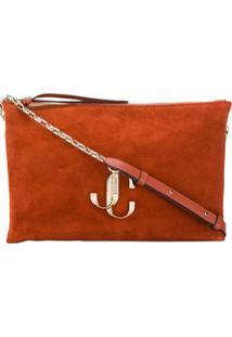 Jimmy Choo Varenne Shoulder Bag - Laranja