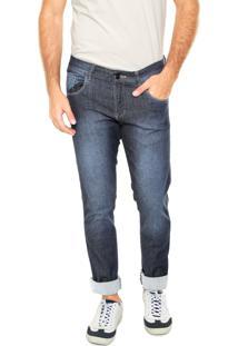 Calça Jeans Fiveblu Reta Leeds Azul