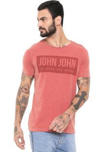 Camiseta John John Rg Over The Vermelha