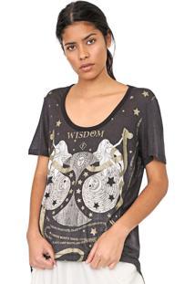 Camiseta Forum Astrologia Preta - Kanui