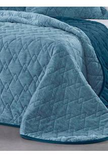 Cobertor Casal Altenburg Azul/Branco