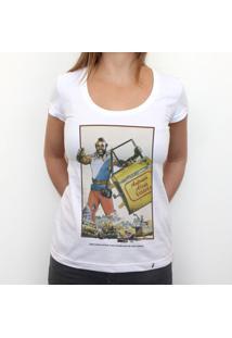 Antonio Alves Taxista - Camiseta Clássica Feminina