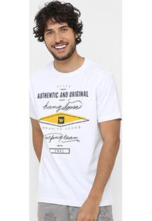Camiseta Hang Loose Letter Masculina - Masculino