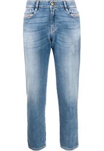 Diesel D-Rifty Slim Fit Jeans - Azul