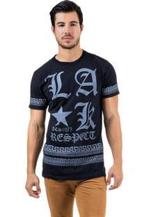 Camiseta Aes 1975 Alongada (Swag) Preto