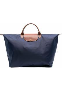 Longchamp Mala Le Pliage Grande - Azul