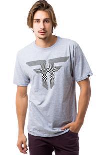 Camiseta Fallen Doppler Preto/Mescla