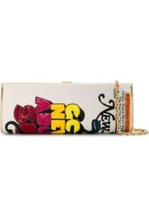 Marc Jacobs New York Magazine Clutch Bag - Vermelho