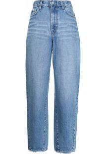 Nobody Denim Calça Jeans Cenoura Porter Cintura Alta - Azul
