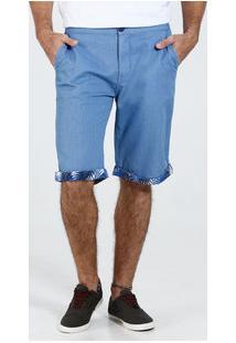 Bermuda Masculina Sarja Bolsos Marisa