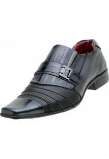 Sapato Social Venetto - Masculino-Preto