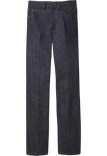 Marc Jacobs Calça Jeans Reta Cintura Alta - Azul