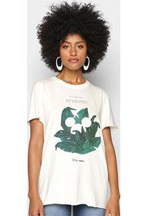 Camiseta Colcci Disney Eco Conscience Feminina - Feminino