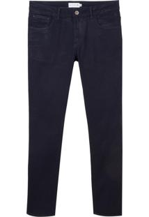 Calca Dudalina Jeans Stretch Five Pockets Essentials Masculina (P19/V19/O19 Jeans Escuro, 54)