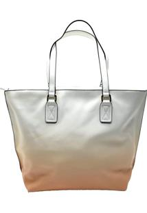 Bolsa Shopper Degradê Salmão